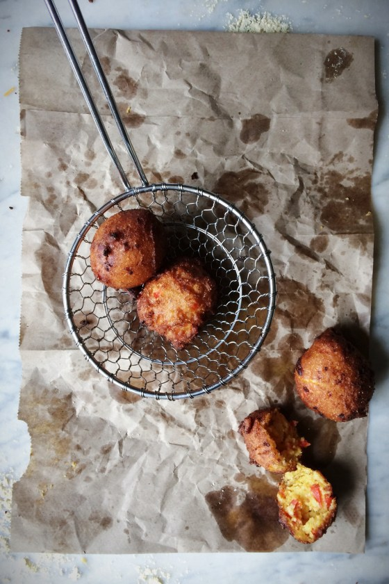 Pimento Cheese Hushpuppies   for the love of the south