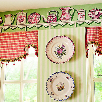 Your Kitchen Needs A Wallpaper Border