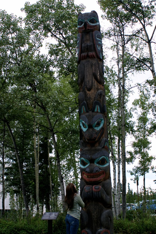 Taking in my The Totem Pole