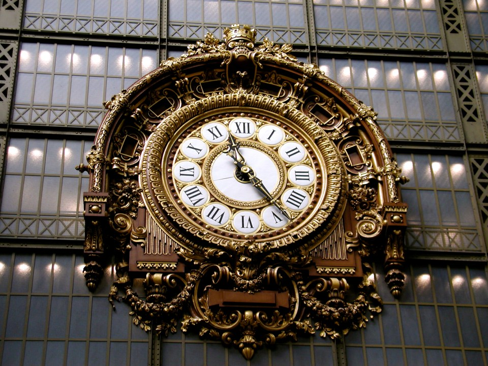 Clock at the Musse D'Orsay