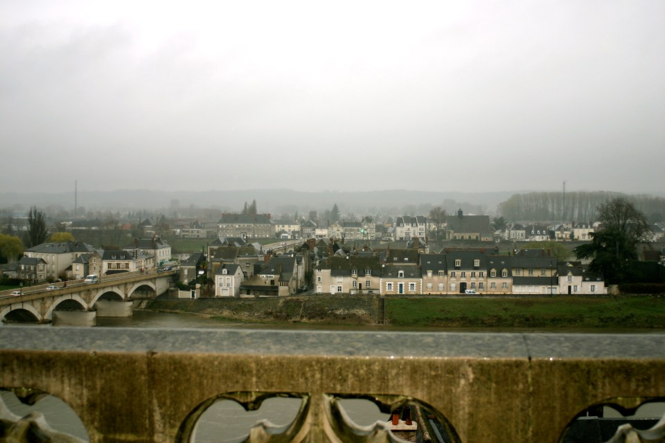 A View of Amboise from the Chateau Roof.