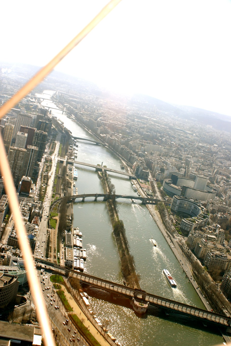The Seine from the Eiffel Tower