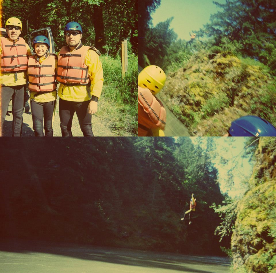 Rafting Collage