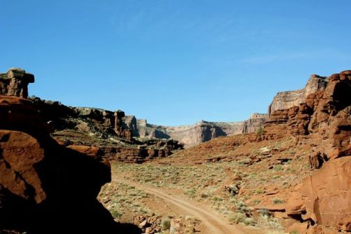 Road to Wanderlust Canyonlands