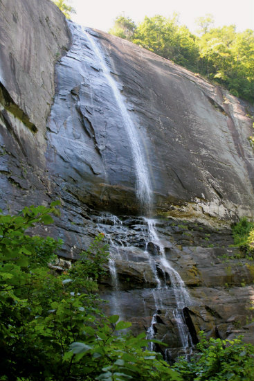 Hickory Nut Falls - Western North Carolina Waterfalls