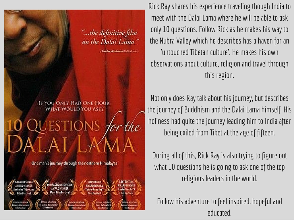 TenQuestionsForTheDalaiLama