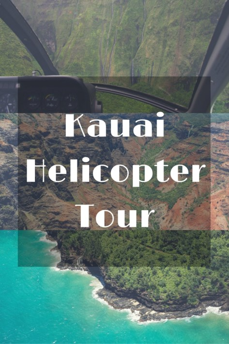 Helicopter Tour Over Kaua'i