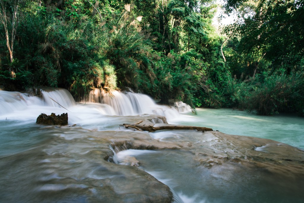 The beautiful Kuang Si Falls of Luang Prabang are meant to be explored!