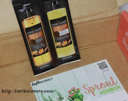 What I Got On My Influenster Sproud VoxBox