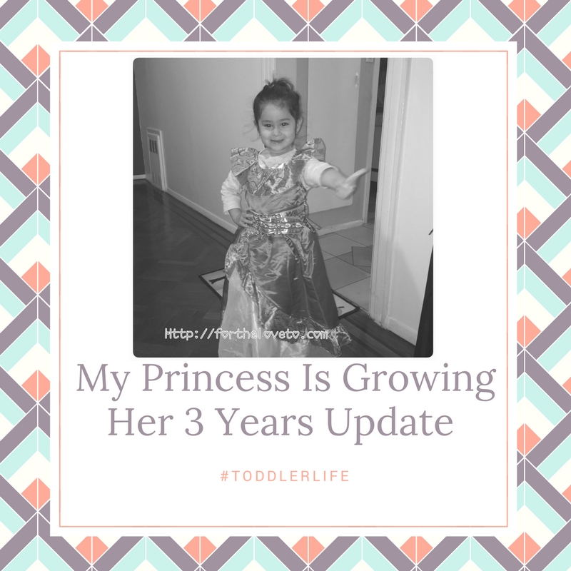 My Princess Is Growing Her 3 YearsUpdate