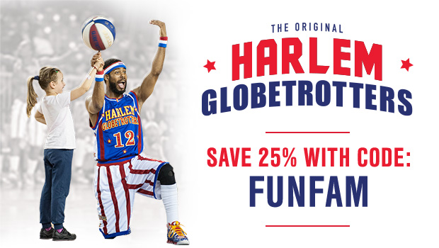 The World Famous Harlem Globetrotters Are Coming To Town / #Familytime