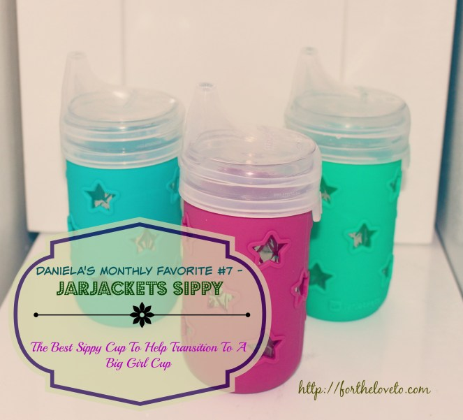 Daniela's Monthly Favorite #7 - JarJackets Sippy / #JarJackets #Giveaway