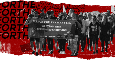 Hundreds of Christians Gather to Participate in March for the Martyrs in Washington, D.C.