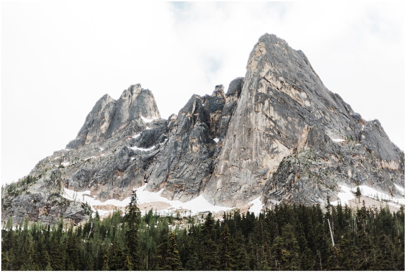 Liberty Bell Mountain in North Cascades National Park by Forthright Photo
