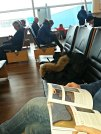Flyplasslitteratur / Reading at the airport