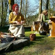 Lena og Elisabeth sin matlaginsgplass / Cooking