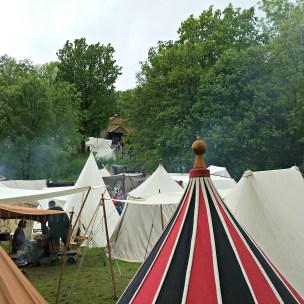 Mange telt / Lots of tents