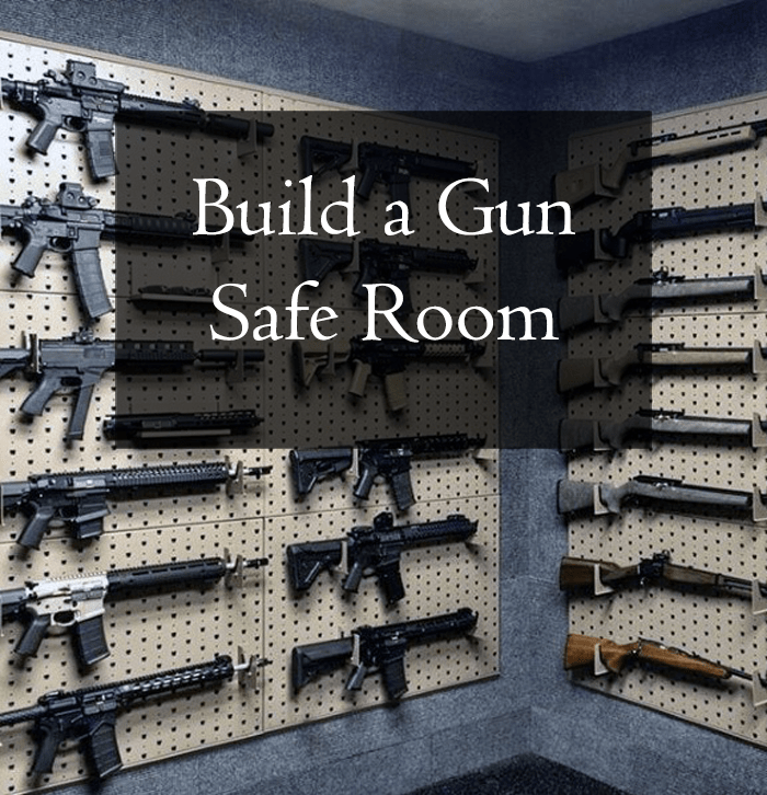 How To Build A Gun Safe Room Fortified Estate