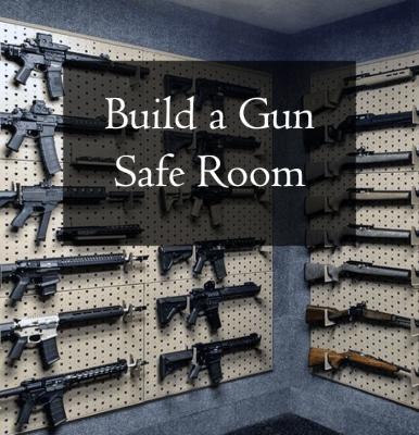 How to build a gun safe room