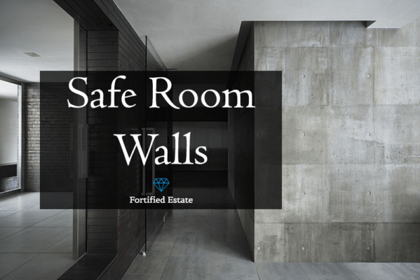 Safe Room Walls And Wall Panels Fortified Estate