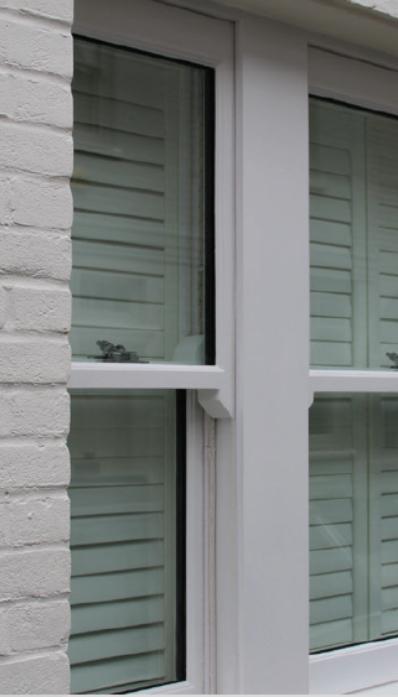 Single hung operable ballistic residential windows