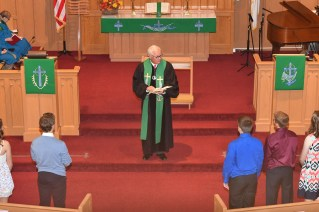 20171029 008 - Confirmation Sunday at First United Methodist Church - Fort Atkinson, WI - 10/29/17