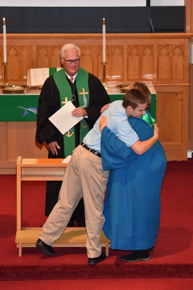 20171029 070 - Confirmation Sunday at First United Methodist Church - Fort Atkinson, WI - 10/29/17