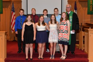 20171029 079 - Confirmation Sunday at First United Methodist Church - Fort Atkinson, WI - 10/29/17