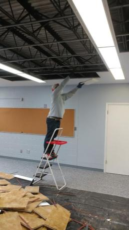 Cranston Room Ceiling Removal