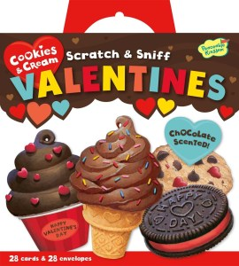 Scratch and sniff valentines