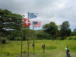 ceremonial flags of the John Frum Cargo Cult