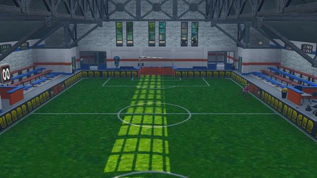 室内サッカー場