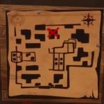 ホンテッド・ヒルズにある宝の地図