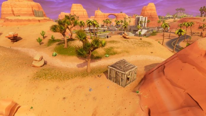 1x1 huts fortnite map changes