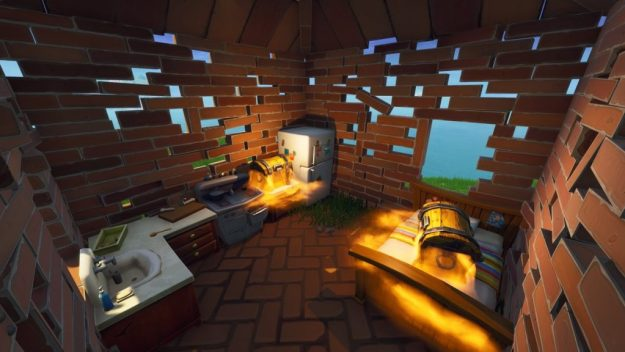 Fortnite huts season 6 map change
