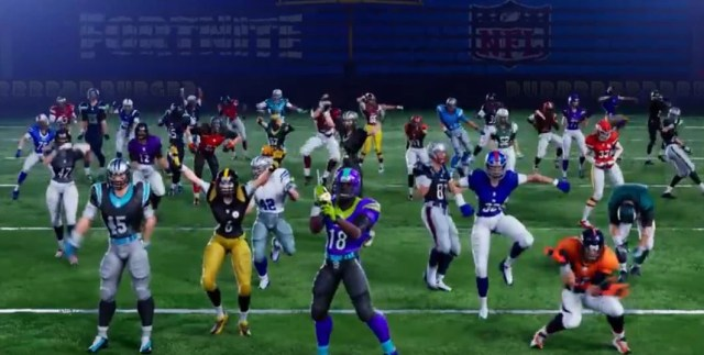NFL Fortnite team up skins