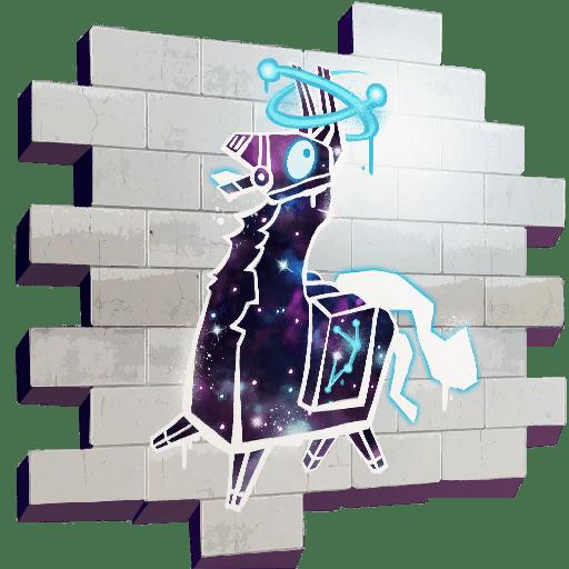 Fortnite Galaxy Llama para los propietarios de Galaxy Skin.