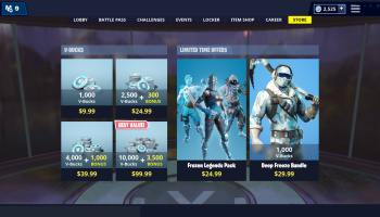 Previously Leaked Fortnite Frozen Legends Pack Now Available Angle