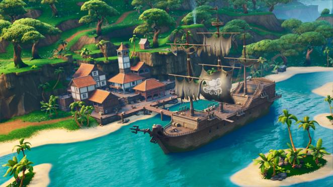 Fortnite Season 8 New POI Lazy Lagoon