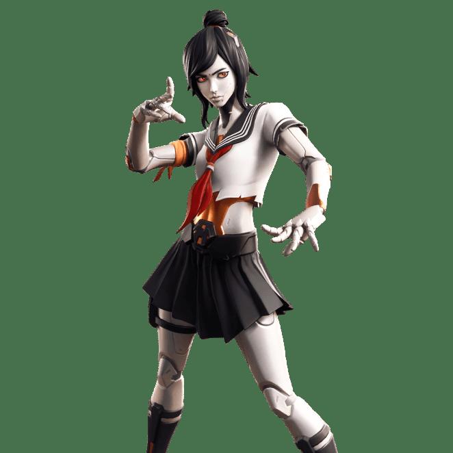 Fortnite v9.40 Leaked Skin - Tsuki