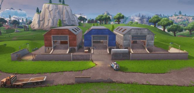 Fortnite Season X (v10.00) Map Changes - Dusty Depot