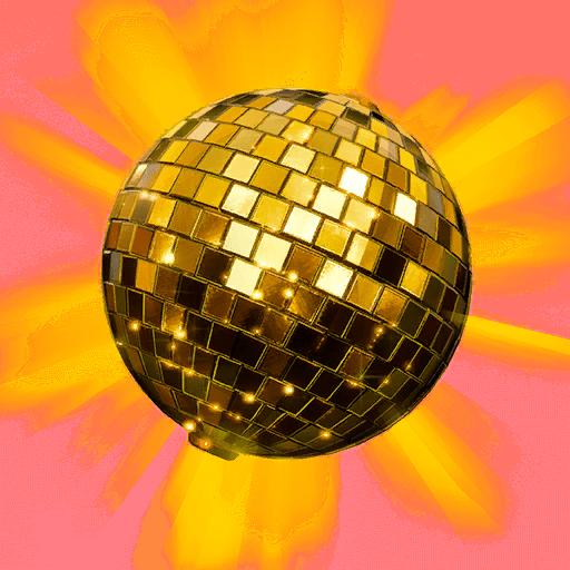 v10.00 Fortnite Season X Leaked Back Bling - Golden Disco