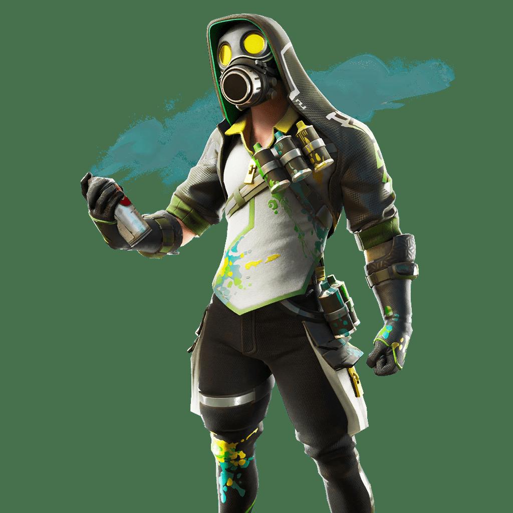 Fortnite v10.30 Leaked Skin - Toxic Tagger