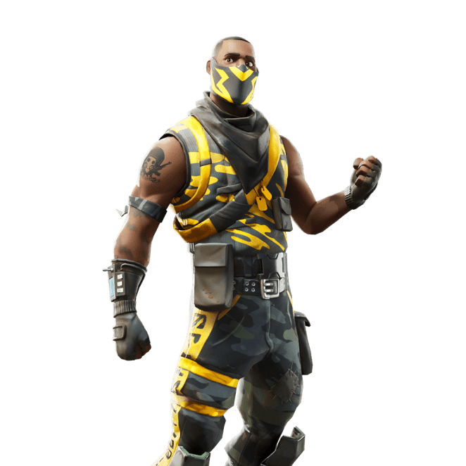 Fortnite v10.40 Leaked Skin - Knockout