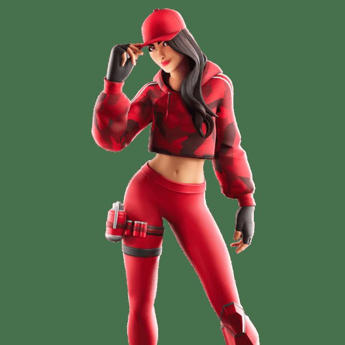 Fortnite v10.40 Leaked Skin - Ruby