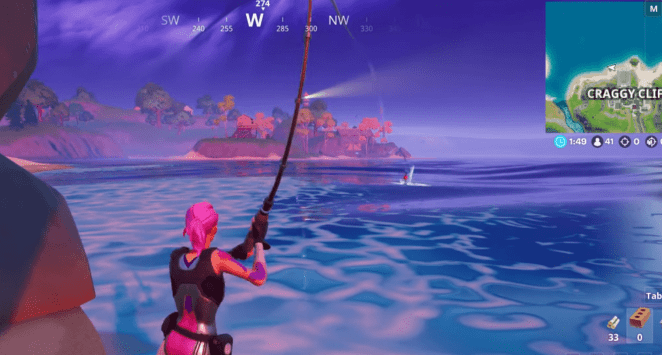Fortnite Chapter 2 - Season 1 Fishing