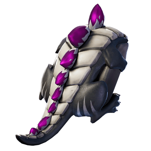 Fortnite v11.01 Leaked Back Bling - Dark Scaly