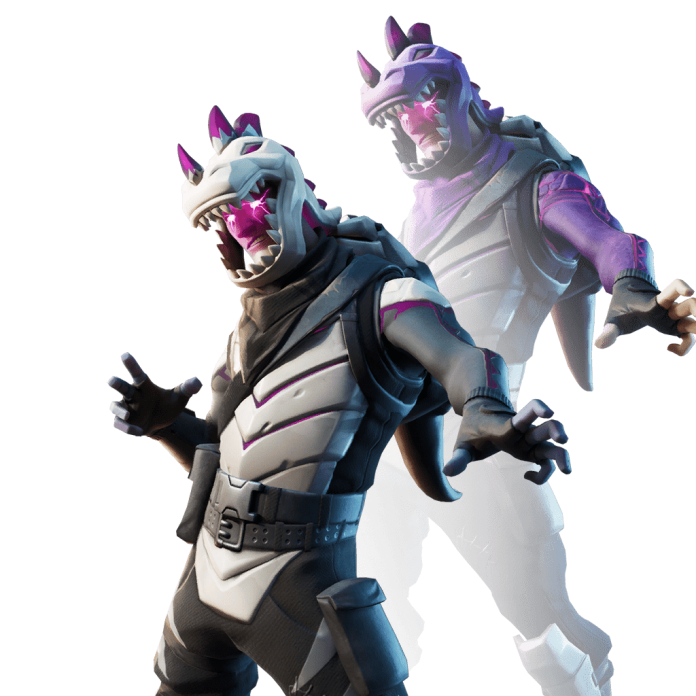 Fortnite v11.01 Leaked Skin - Dark Rex
