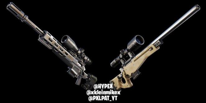 New Fortnite Sniper Rifles for Chapter 2 Season 1