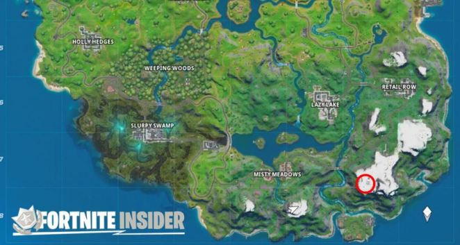 Weather Station Fortnite Location